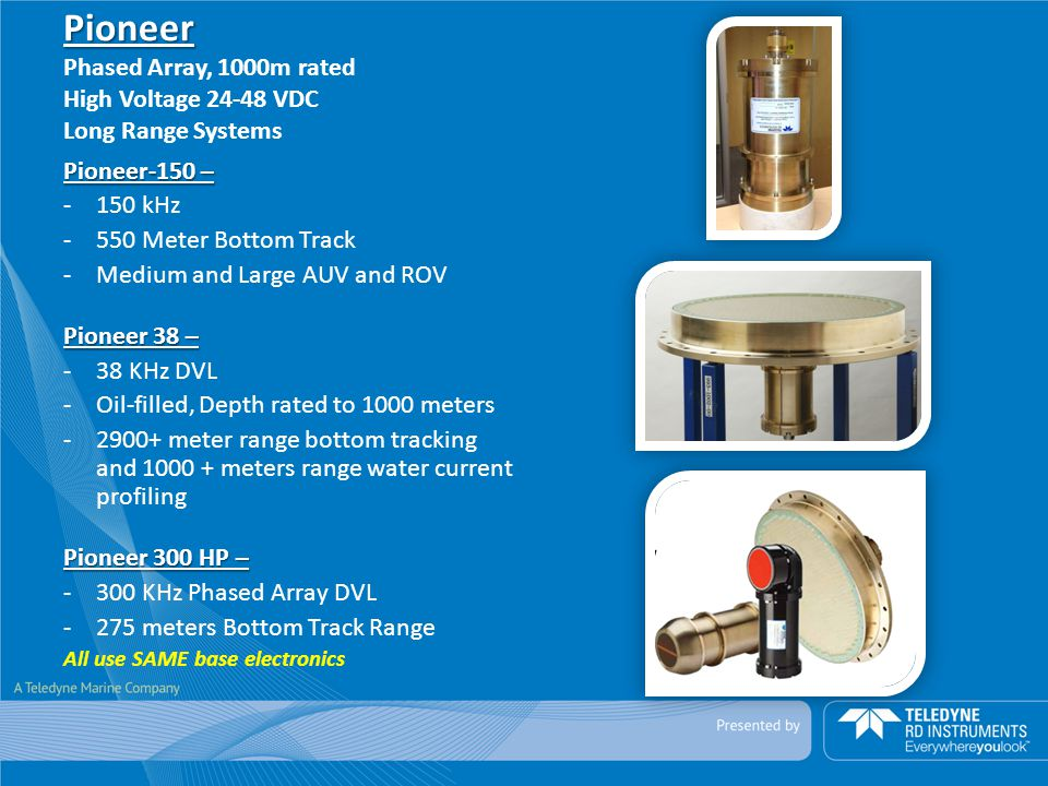 Pioneer Phased Array, 1000m rated High Voltage 24-48 VDC Long Range Systems