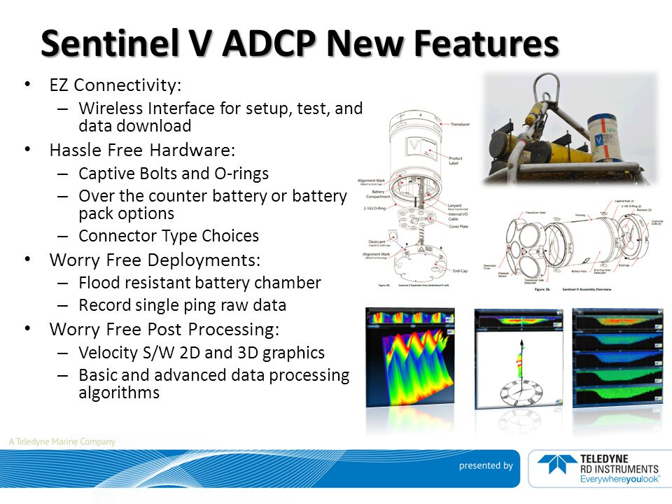 Sentinel V ADCP New Features