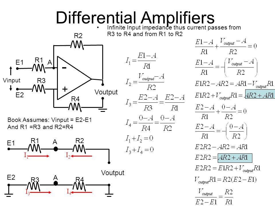 biomedical instrumentation i ppt video online download rh slideplayer com Discrete Differential Amplifier Differential Pair Amplifier