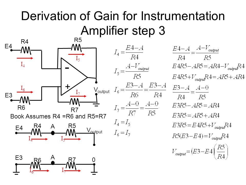 biomedical instrumentation i ppt video online download rh slideplayer com Thermistor Circuit Diagram Differential Amplifier Schematic
