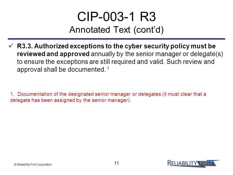 CIP R3 Annotated Text (cont'd)