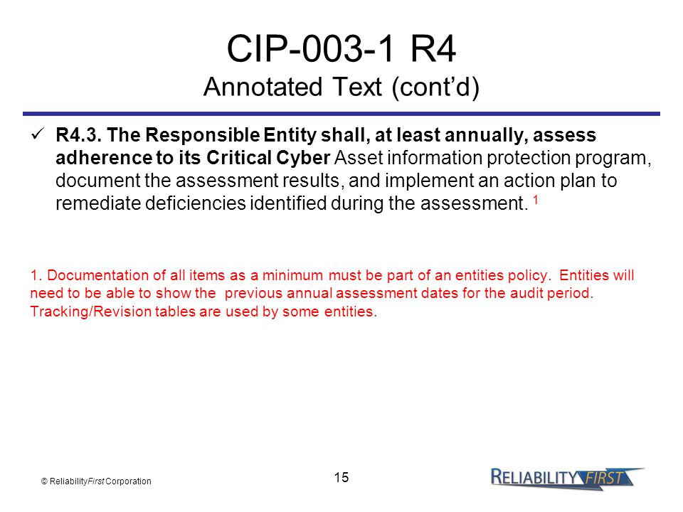 CIP R4 Annotated Text (cont'd)