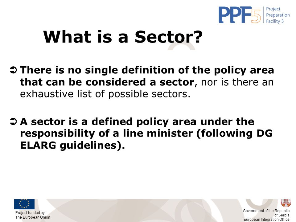 What is a Sector