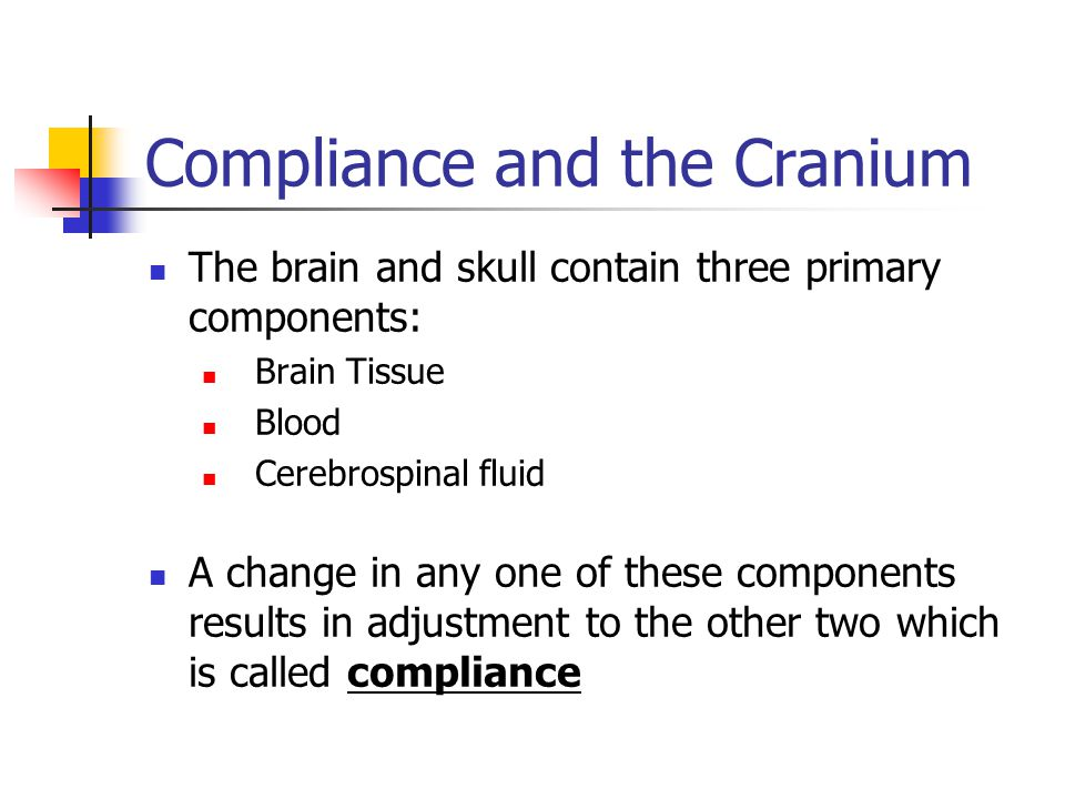 Compliance and the Cranium