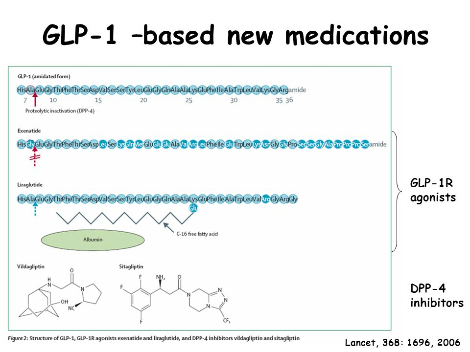 GLP-1 –based new medications