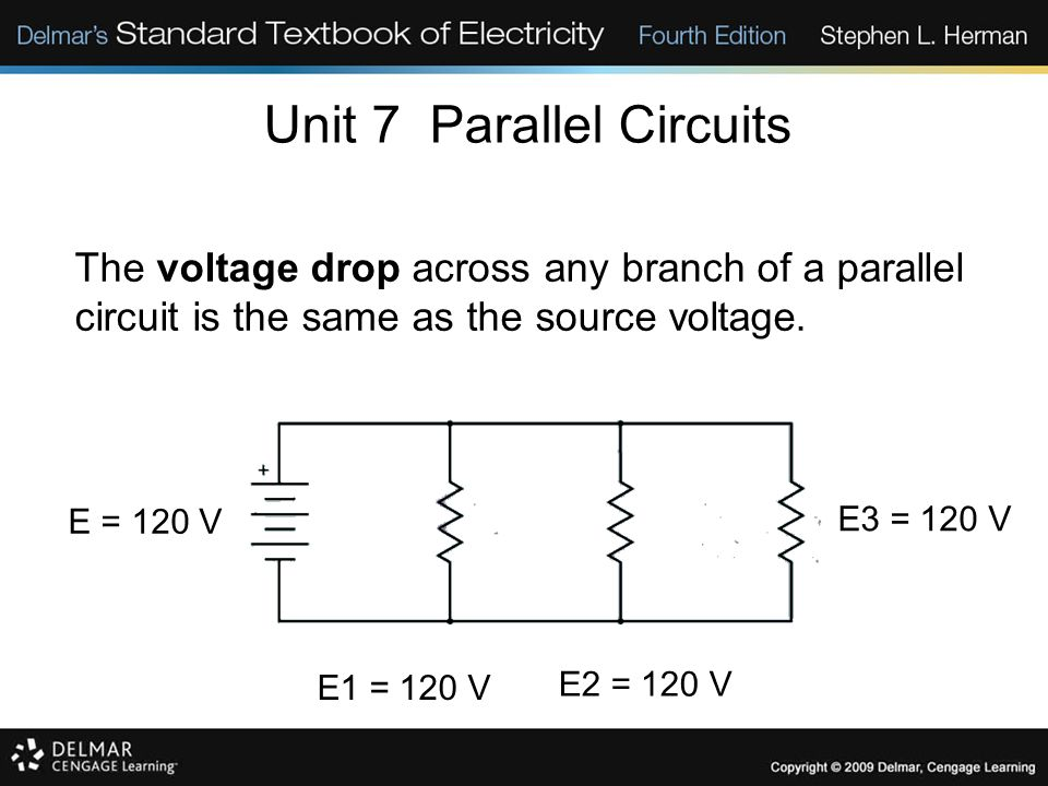 Unit 7 Parallel Circuits