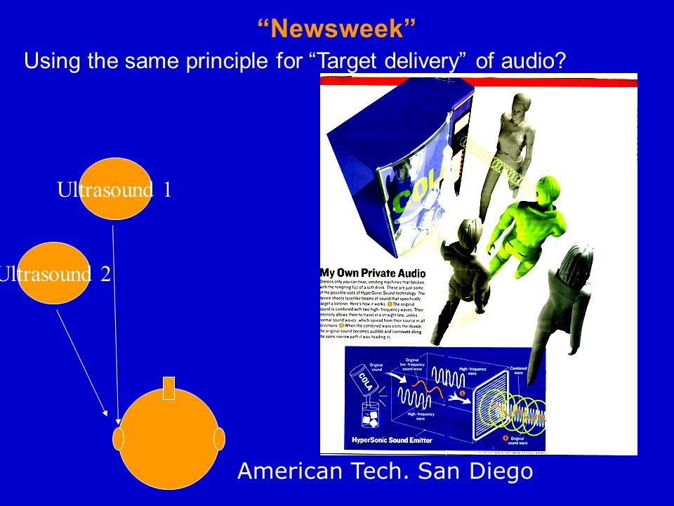 Newsweek Using the same principle for Target delivery of audio