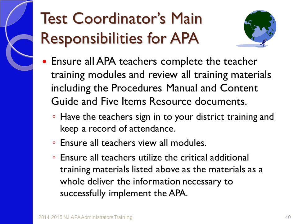 administrator test coordinator training ppt download rh slideplayer com Reference Sheet NJ NJ 6 Point Writing Rubric