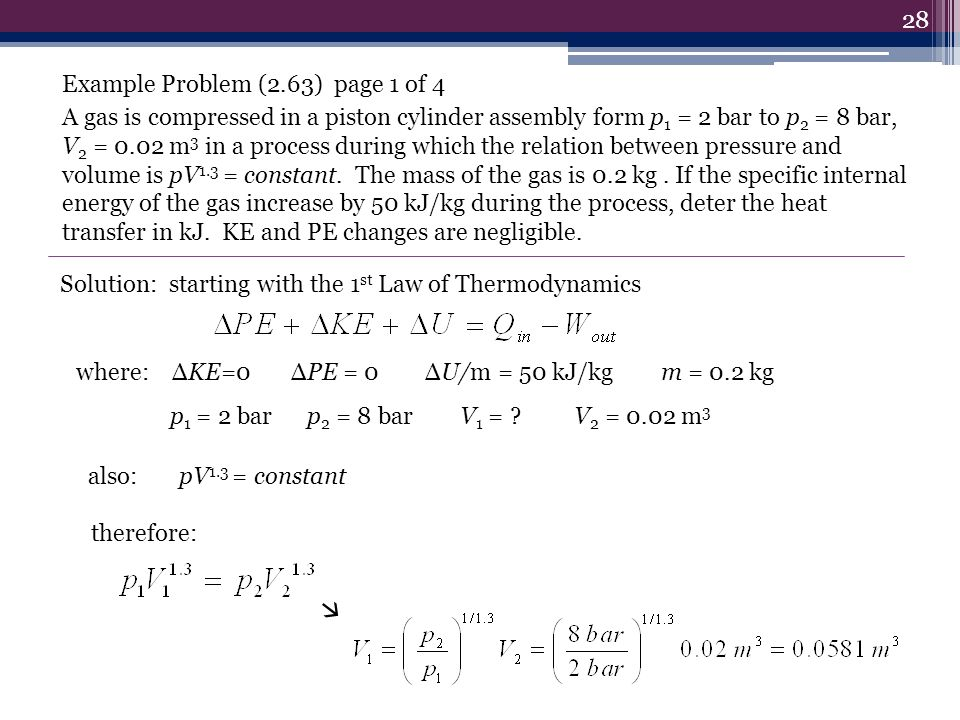 Example Problem (2.63) page 1 of 4