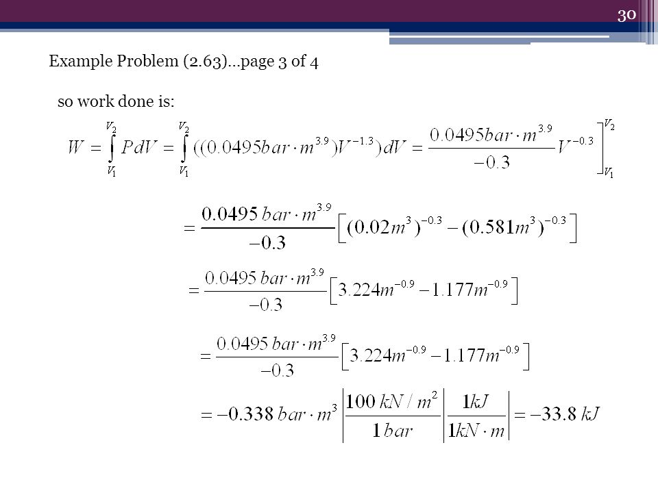 Example Problem (2.63)…page 3 of 4