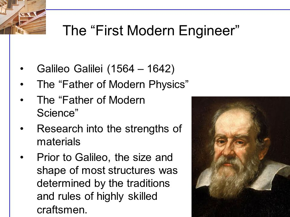 The First Modern Engineer