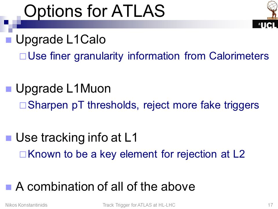 L1 Track Trigger for ATLAS at HL-LHC - ppt download