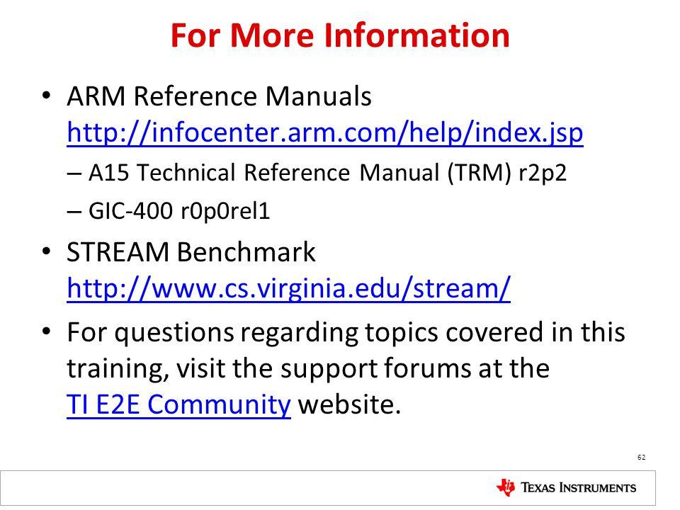 keystone arm cortex a 15 corepac overview ppt video online download rh slideplayer com arm r5 technical reference manual armv7 technical reference manual
