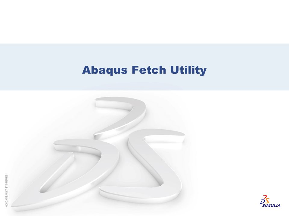 Abaqus Fetch Utility