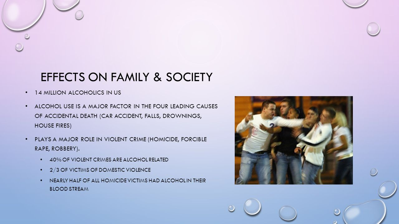Effects on family & society