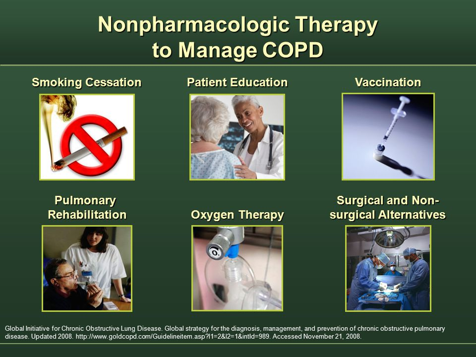 Nonpharmacologic Therapy to Manage COPD