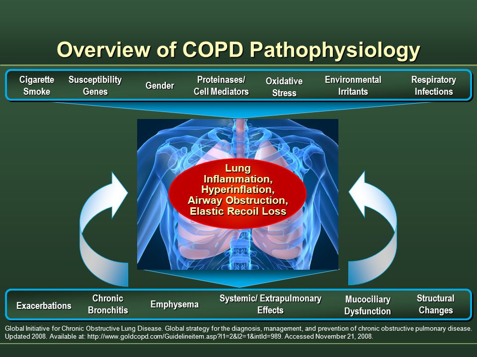 Overview of COPD Pathophysiology