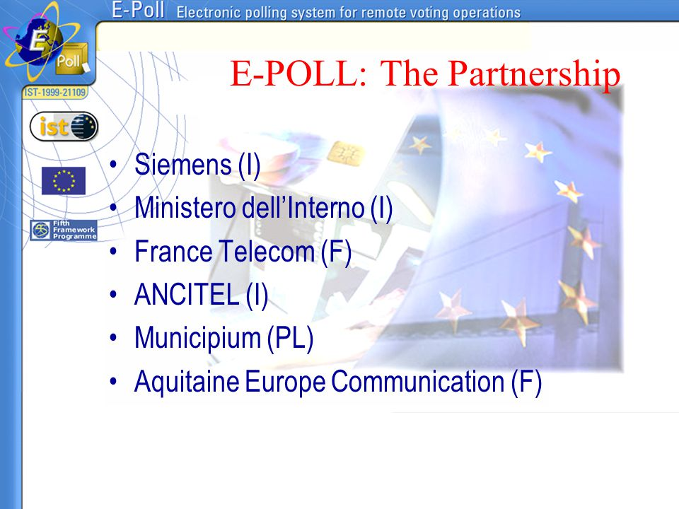 E-POLL: The Partnership
