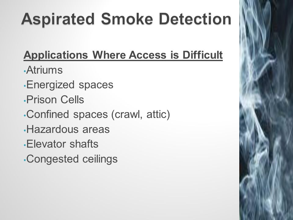 Aspirated Smoke Detection  sc 1 st  SlidePlayer & Aspirated Smoke Detection - ppt video online download