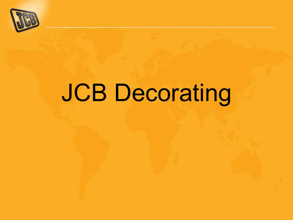 JCB Decorating