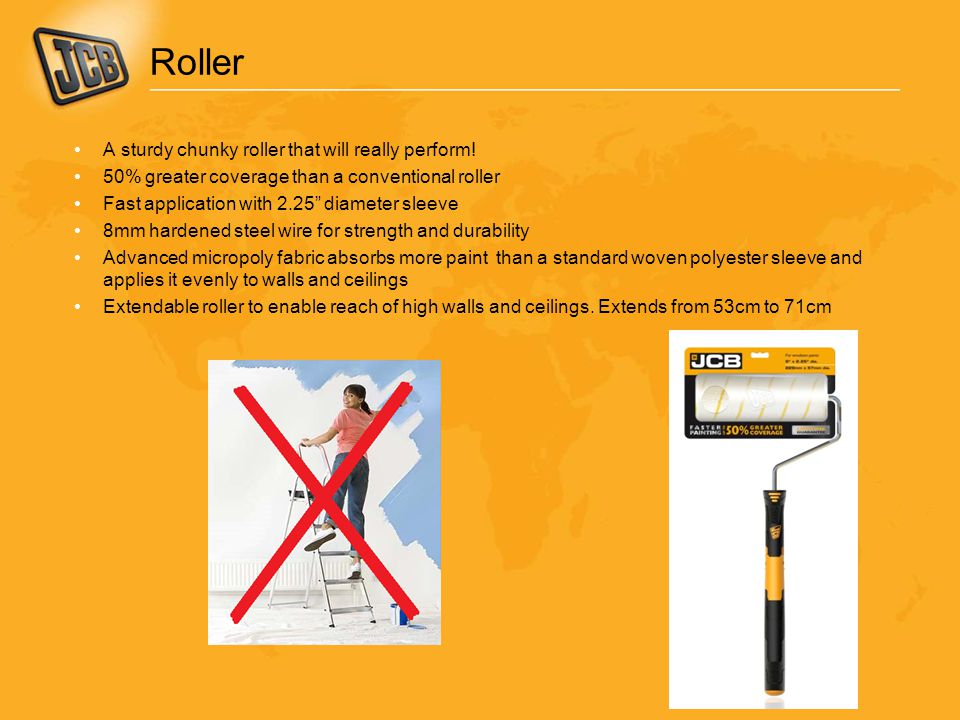 Roller A sturdy chunky roller that will really perform!