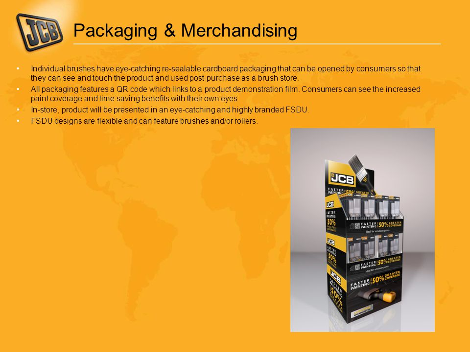 Packaging & Merchandising