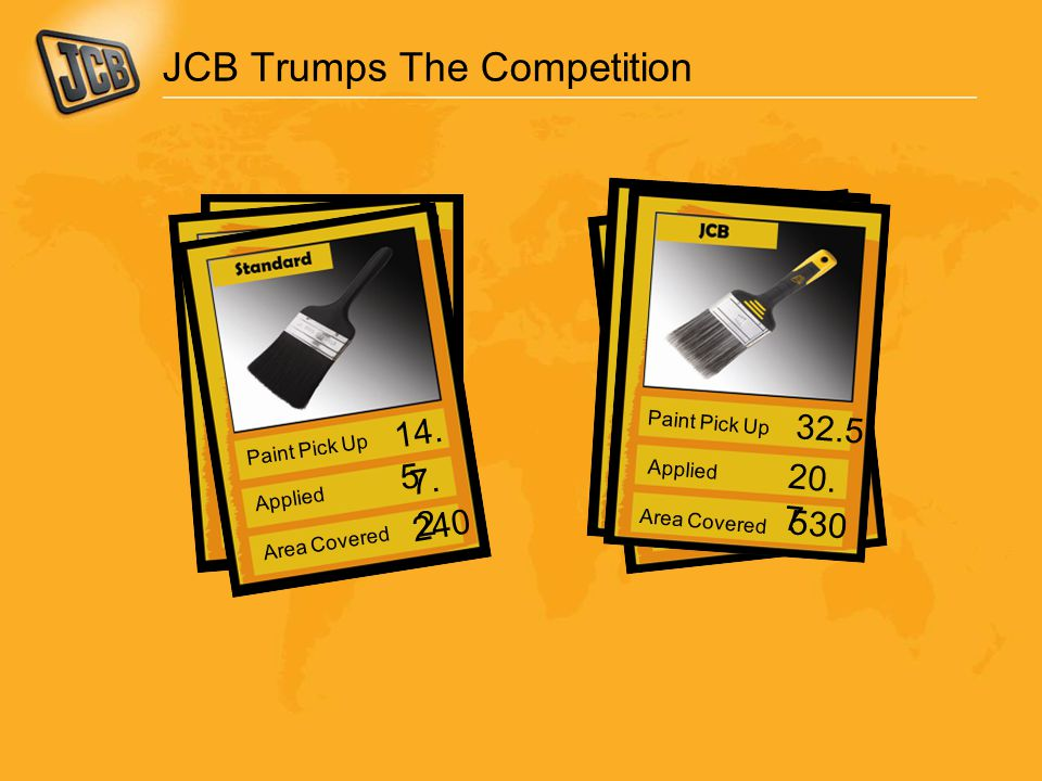 JCB Trumps The Competition