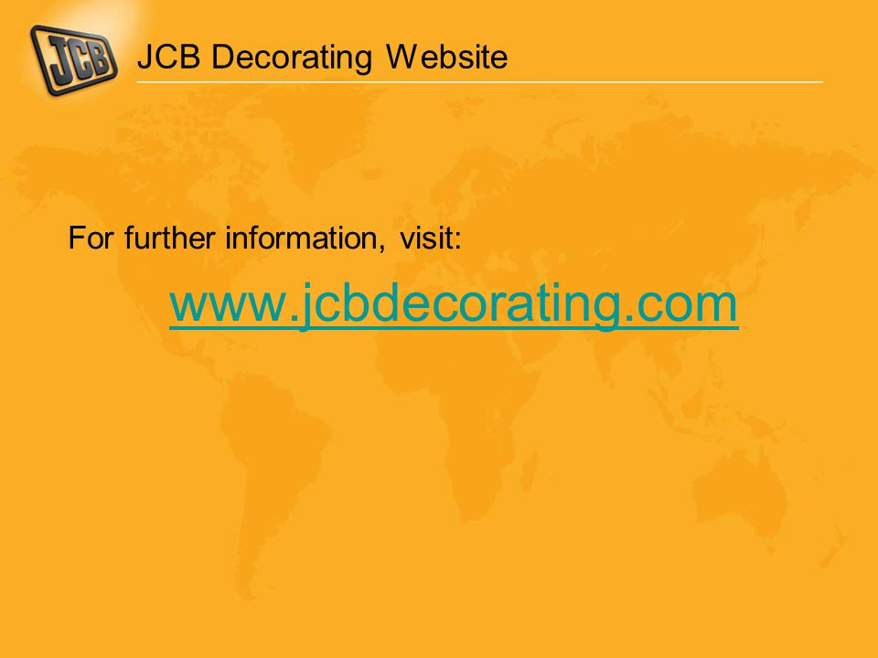 JCB Decorating Website