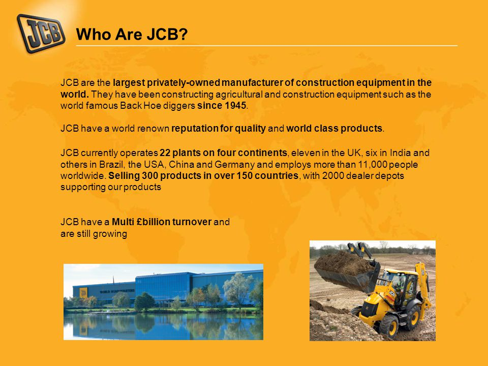 Who Are JCB