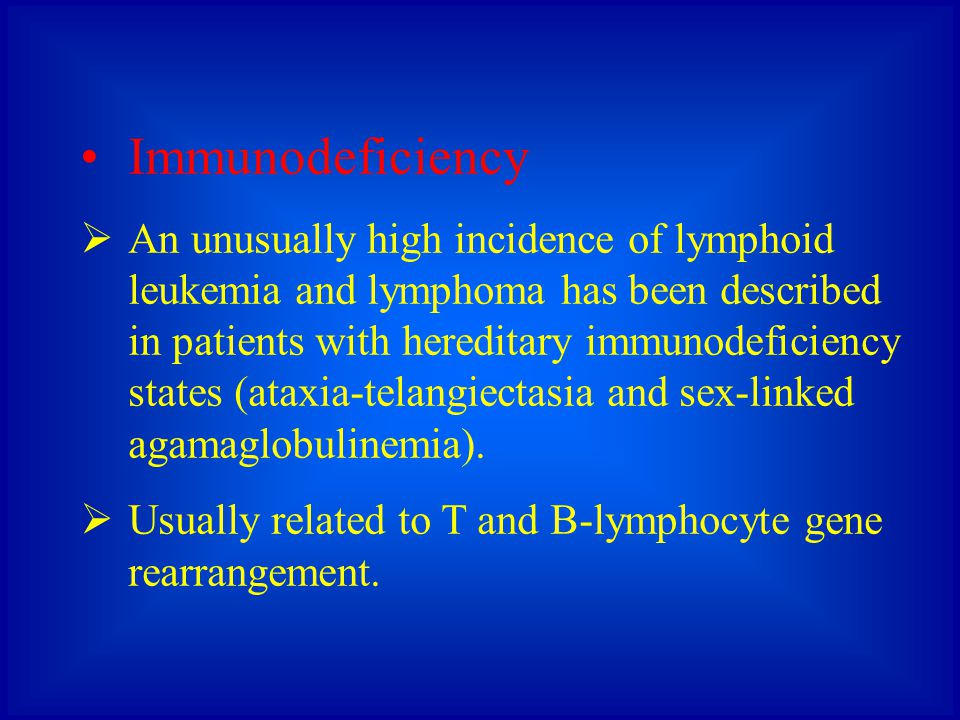 Immunodeficiency