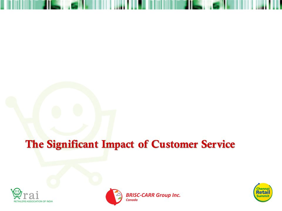The Significant Impact of Customer Service