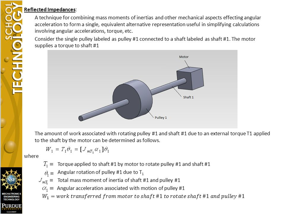 LECTURE 26- MASS MOMENT OF INERTIA OF PULLEY SYSTEMS - ppt video