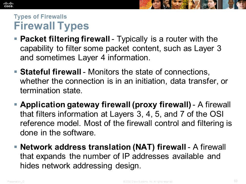 Chapter 4 Implementing Firewall Technologies Ppt Download