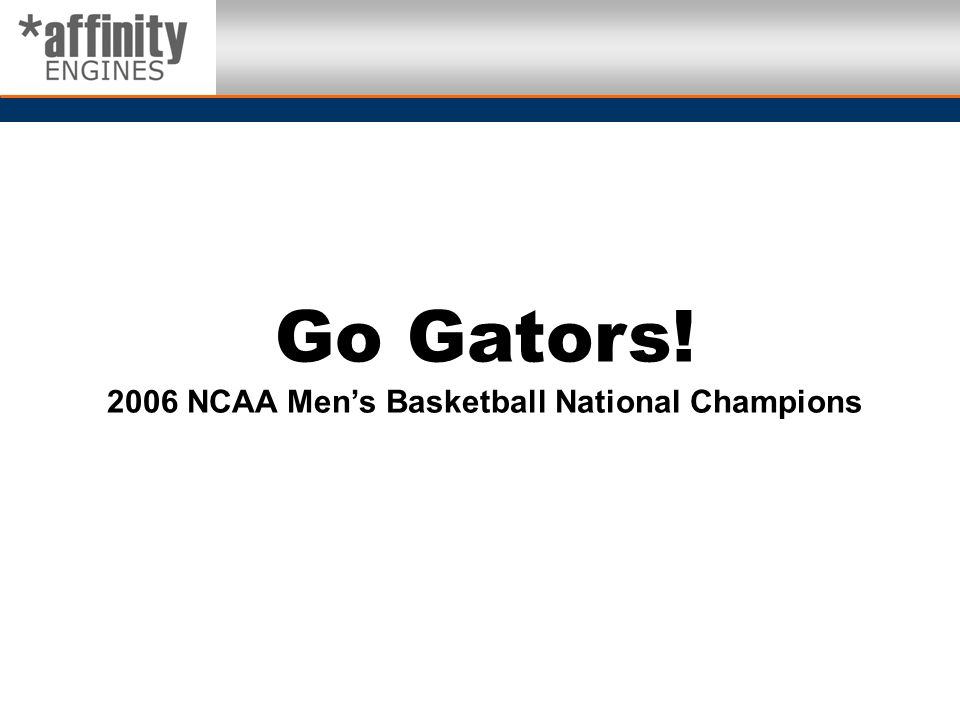 2006 NCAA Men's Basketball National Champions