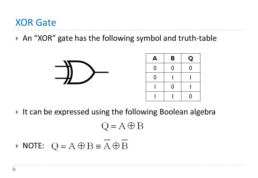 Introduction Digital Electronics Logic Gates De Morgans Theorem