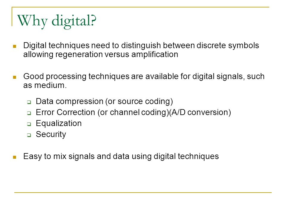 Digital communication lecture 1 ppt download 11 why digital ccuart Choice Image