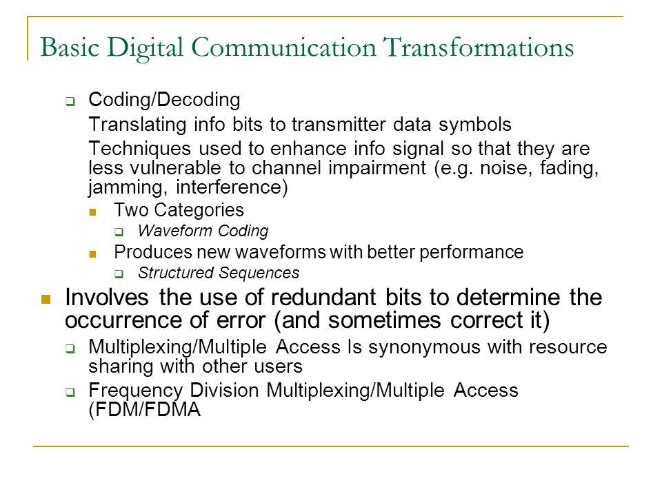 Digital Communication Lecture-1 - ppt download