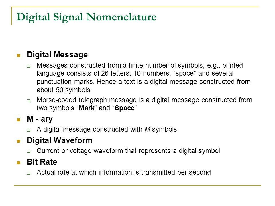 Digital Communication Lecture 1 Ppt Download