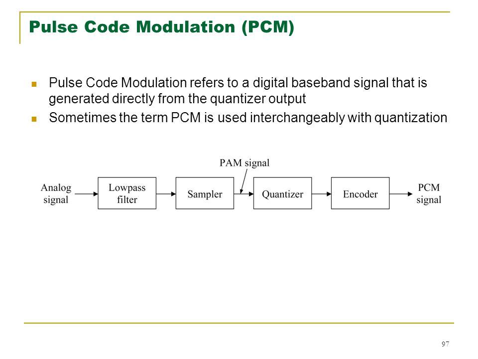 Digital communication lecture 1 ppt download pulse code modulation pcm ccuart Choice Image