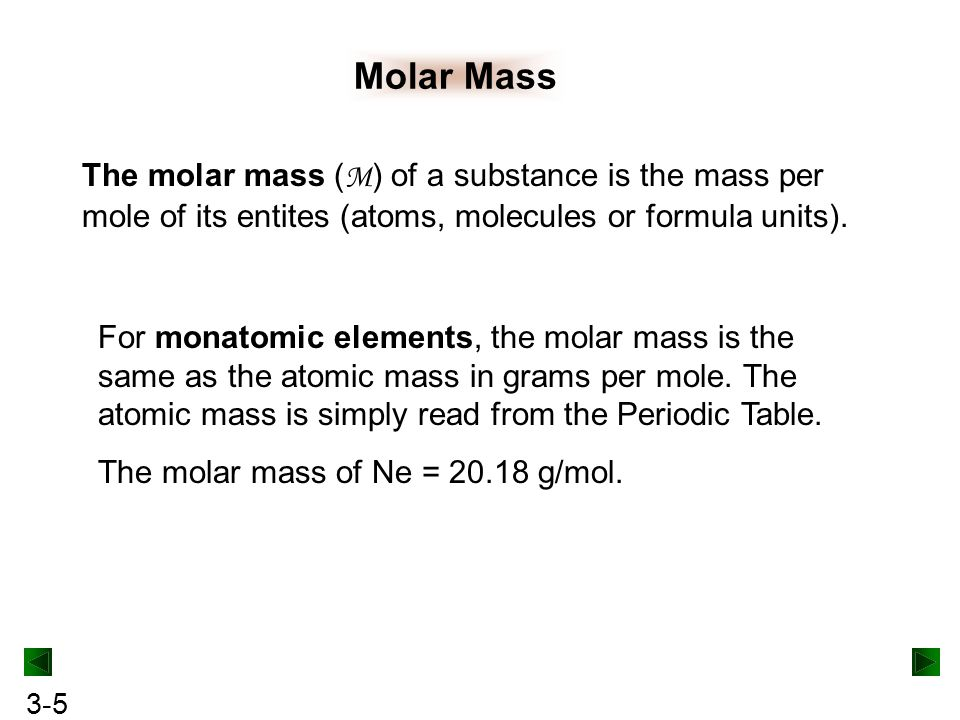 Chapter 3 stoichiometry of formulas and equations ppt download 5 molar mass urtaz Choice Image