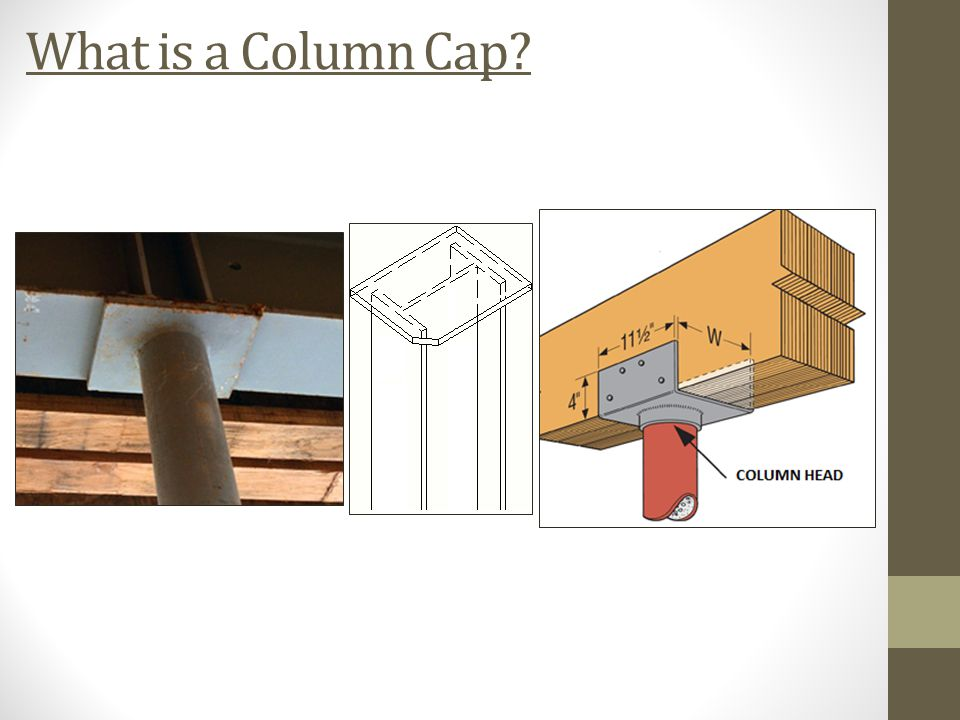 Plate Bending of Steel Column Caps - ppt download
