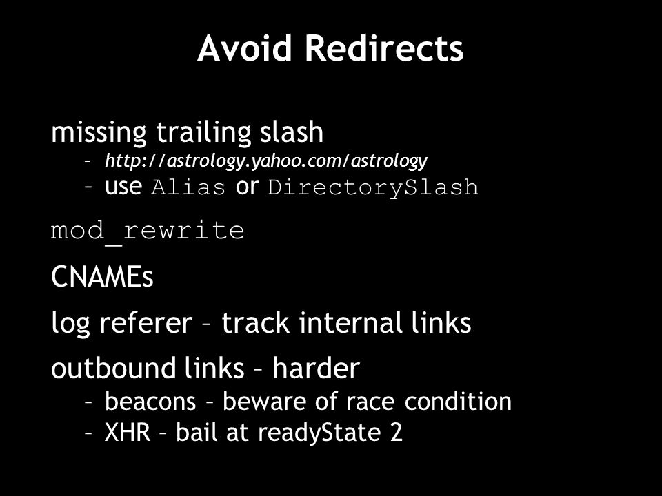 Avoid Redirects missing trailing slash mod_rewrite CNAMEs