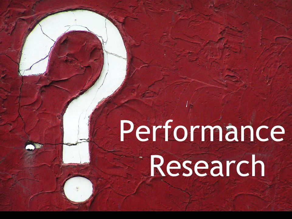 Performance Research If you could cut performance in half, FE changes would be 40-45%, while BE would be only 5-10%.