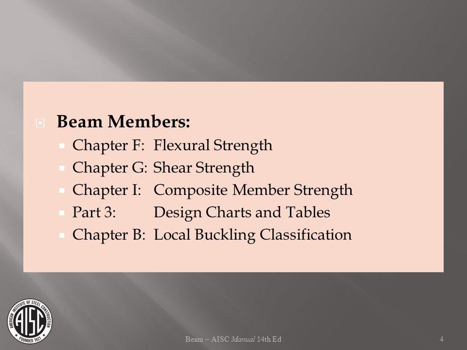 Teaching Modules for Steel Instruction Beam Design - ppt