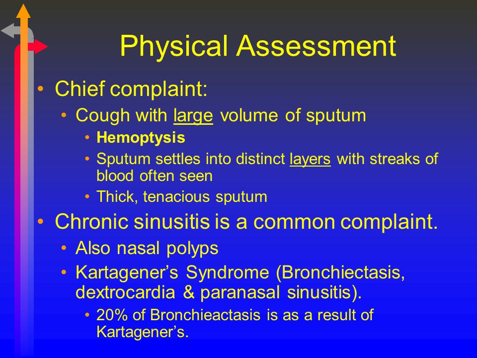 Physical Assessment Chief complaint: