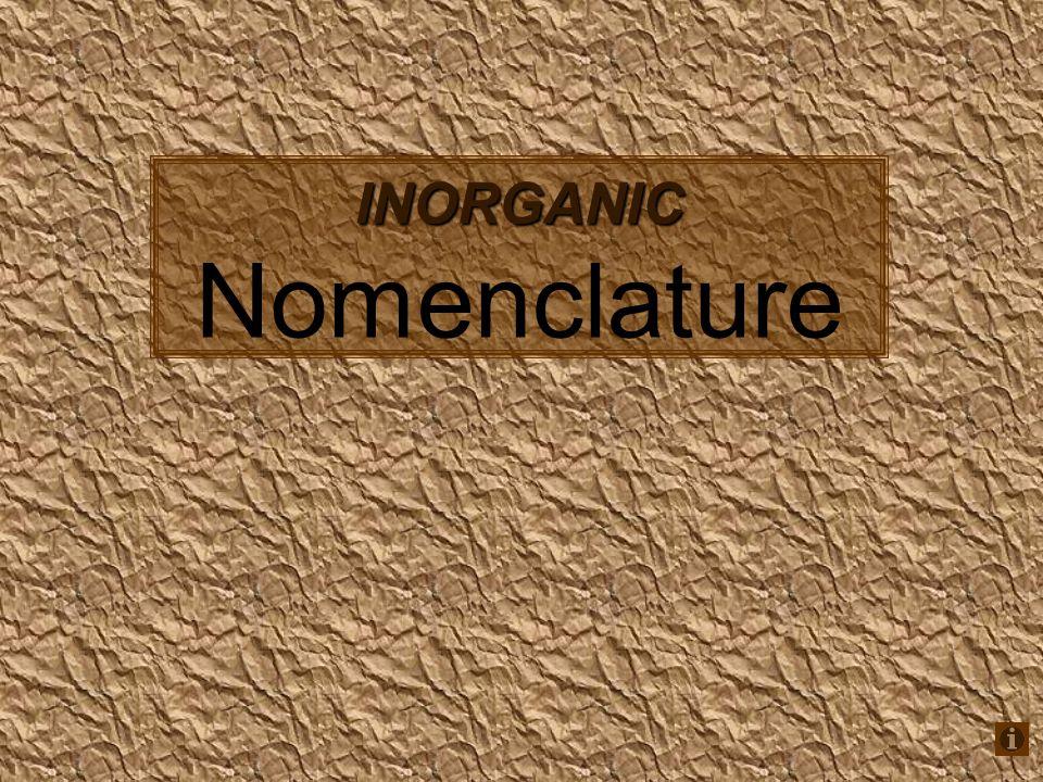Inorganic Nomenclature Ppt Download. Inorganic Nomenclature. Worksheet. Inorganic Nomenclature Worksheet Answers At Clickcart.co
