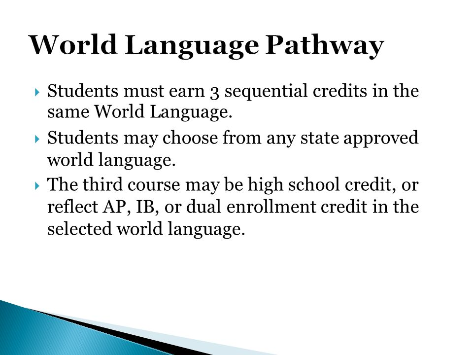 World Language Pathway