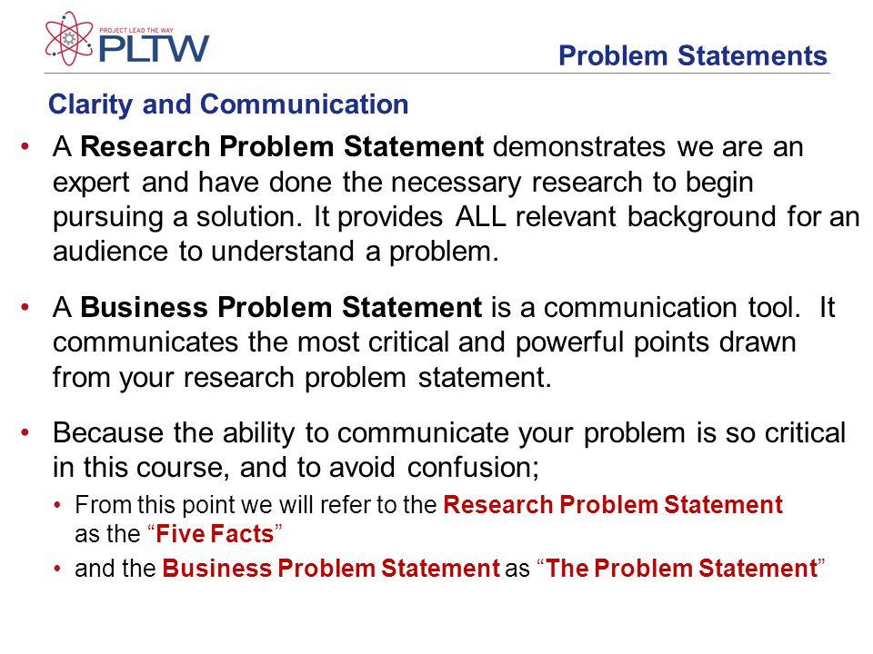 Developing a problem statement ppt video online download writing a problem statement 10 clarity and communication flashek Gallery