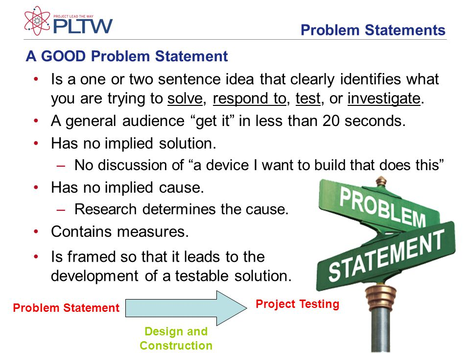 Developing a problem statement ppt video online download a good problem statement maxwellsz