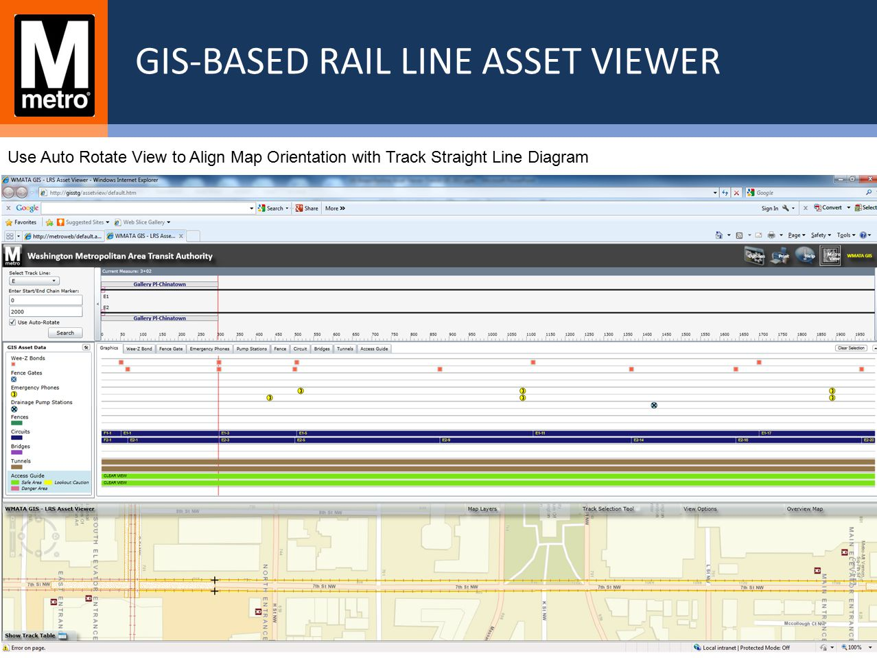 GIS-Based Rail Line Asset Viewer - ppt video online download